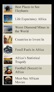 World Travel Lists - AFRICA screenshot 8