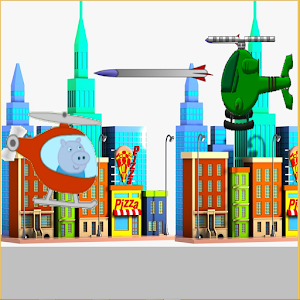 Copter pepe pig android apps on google play for Missile peppa pig