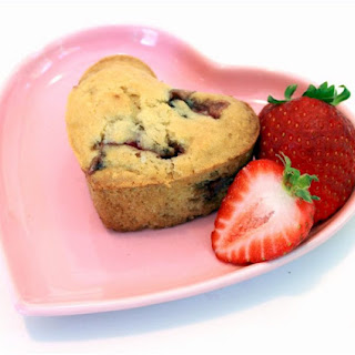 Strawberry Love Muffins.