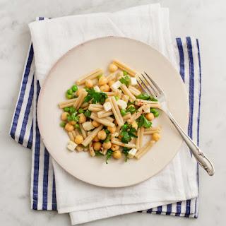 Pea & Chickpea Pasta Salad.
