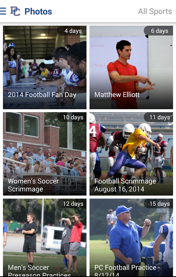 Presbyterian Athletics: Free- screenshot