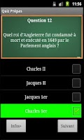 Screenshot of Quiz Prépas