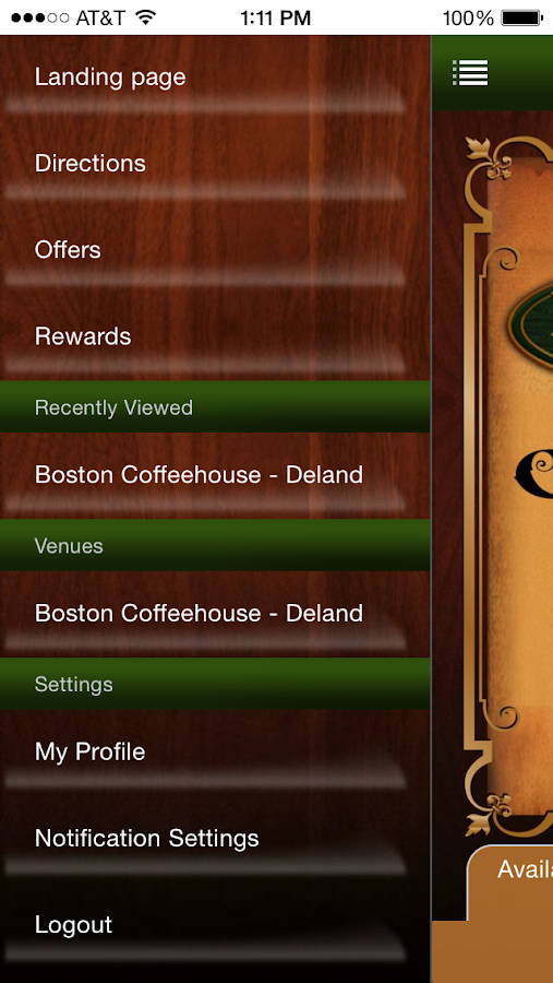 Boston Coffee House- screenshot