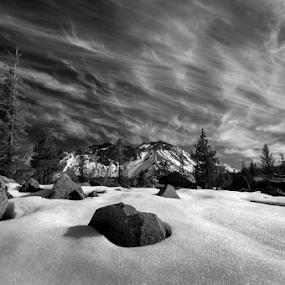 Lassen by Michael Keel - Black & White Landscapes (  )