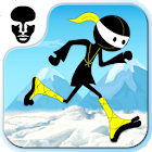 Angry Ninja - Running Games icon