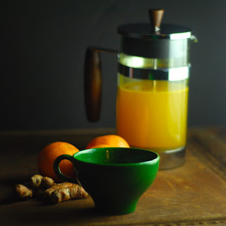 French Press Turmeric Tea