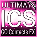Pink ICS GO Contacts EX Theme icon