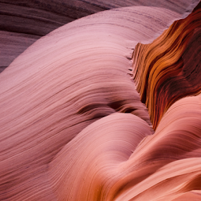 Nature's Art by Phyllis Plotkin - Abstract Patterns ( interior landscape, natures sculpture, walls, wavy patterns, antelope canyon )