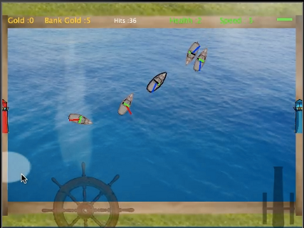 Sailboat Battle Arena