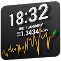 3S Exchange Rates Chart Widget icon