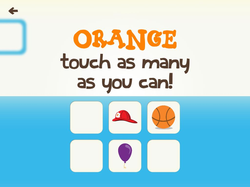 Game for colors - Toddler Learning Games Ask Me Color Shape Games Screenshot