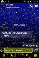 Screenshot of GO SMS Pro Magic Cats Theme