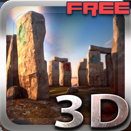 3D Stonehenge Free lwp
