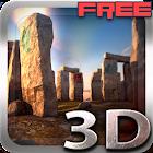 3D Stonehenge Free lwp icon