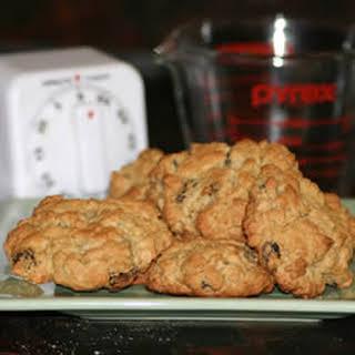 Oatmeal Drop Cookies.