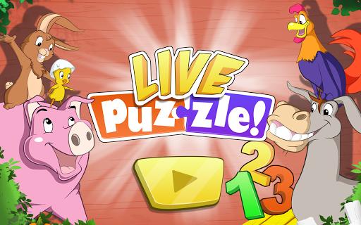 Live Puzzle キッズに贈る農場のナンバース