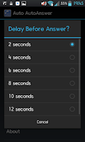 Screenshot of Auto AutoAnswer - ROOTING