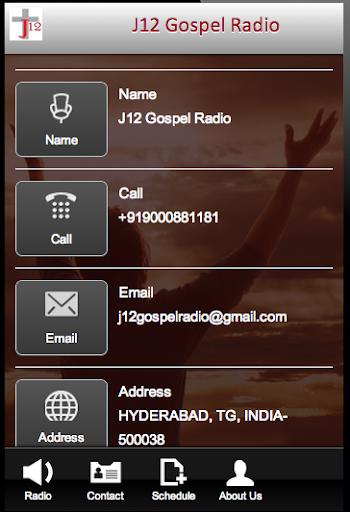 玩商業App|J12 Gospel Radio免費|APP試玩