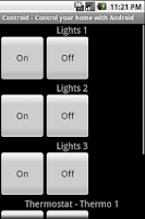 Screenshot of Controid - Home Automation