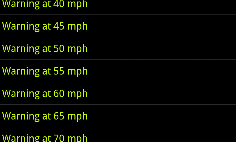 EB GPS Speedometer - screenshot
