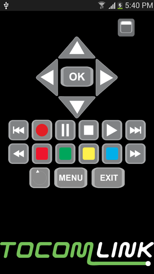 Virtual Remote Control- screenshot