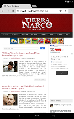 El Blog del Narco - screenshot