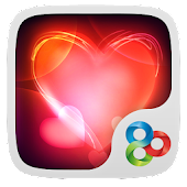 Love,Love GO Launcher Theme