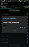 Screenshot of Zsebra