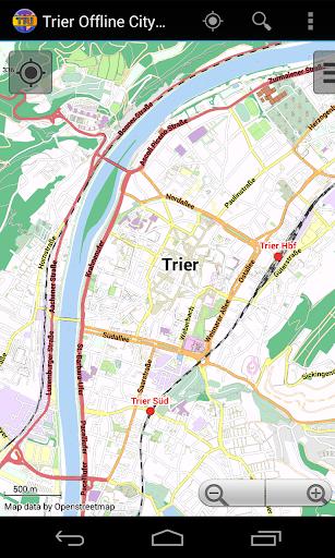 Trier Offline City Map