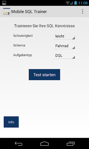 SQL Trainer