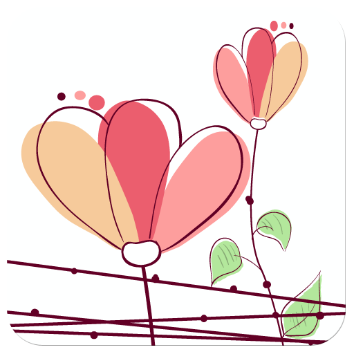 WP8桌面主题:清新花草 個人化 App LOGO-硬是要APP