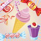 Candy Jeux de mémoire enfants - bonbon délicieux icon