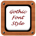 Gothic Font Style icon