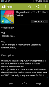 ThyrusHolo KIT KAT Black Theme v6.5