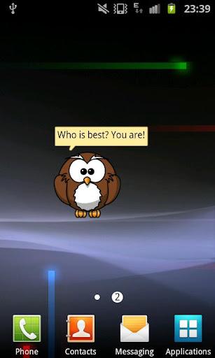 Happy Owl Widget