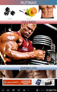 Gym Sport -ejercicios gimnasio- screenshot thumbnail