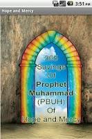 Screenshot of 365 Sayings : Prophet Muhammad