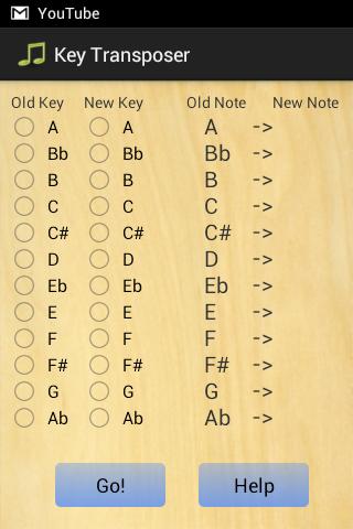 Key Transposer