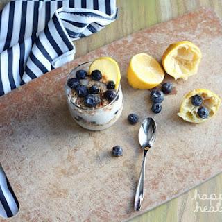 Coconut Lemon Pudding Parfait