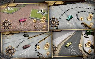 Screenshot of Muscle Car Simulator 3D