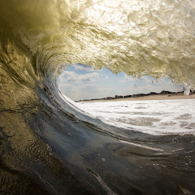 Inside the golden Barrel by Dave Nilsen - Landscapes Waterscapes