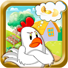 Angry Chicken - Eggs Rescue icon
