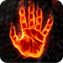 Fire Hand Live Wallpaper icon