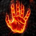 Fire Hand Live Wallpaper icon