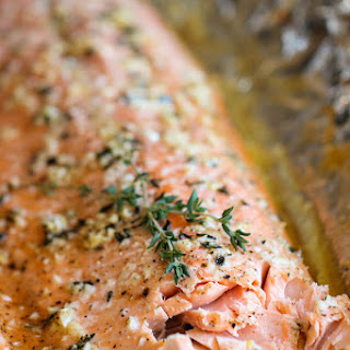 Honey Salmon in Foil Recipe