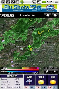 wdbj7weather - screenshot thumbnail