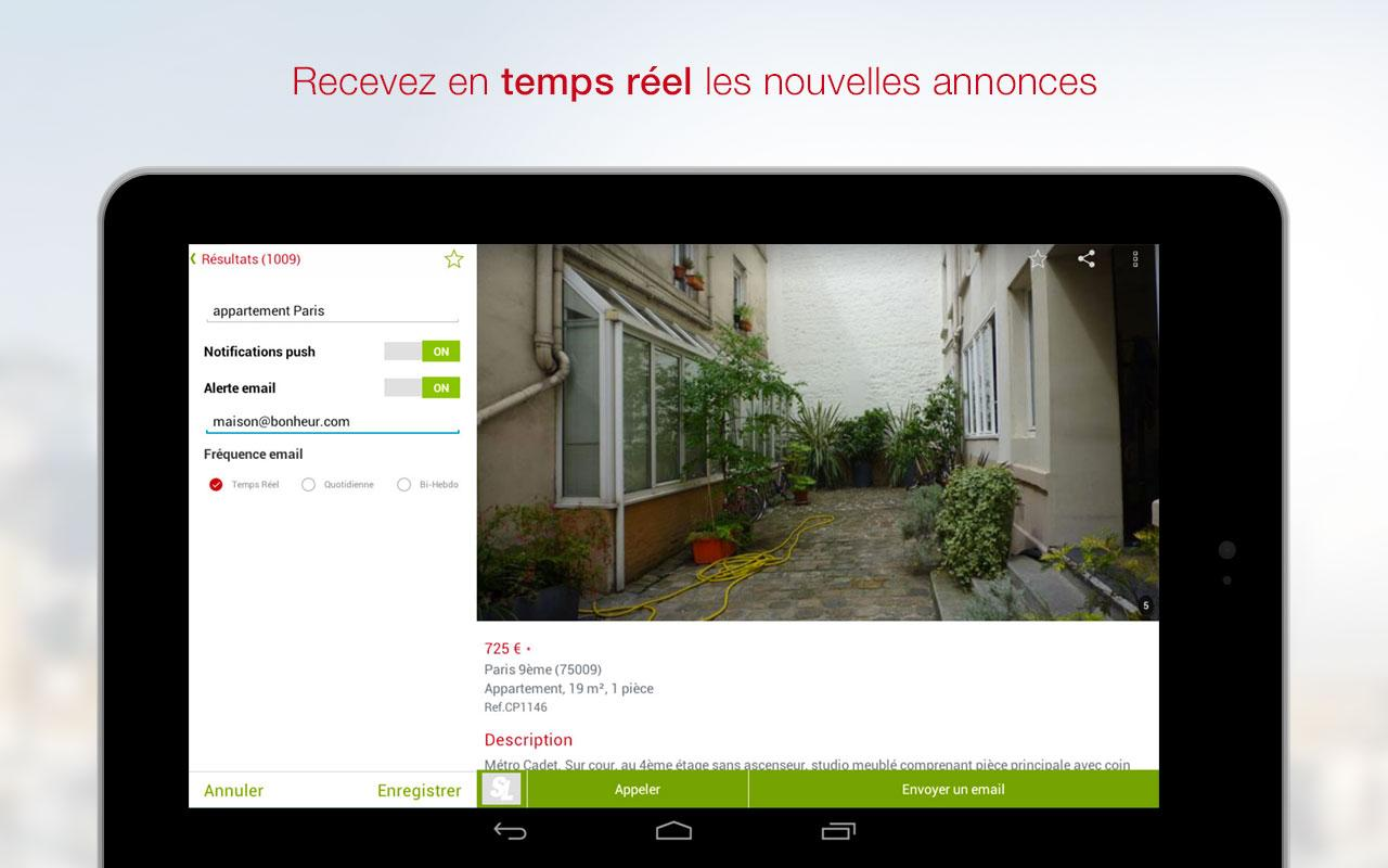 SeLoger - location, immobilier - screenshot