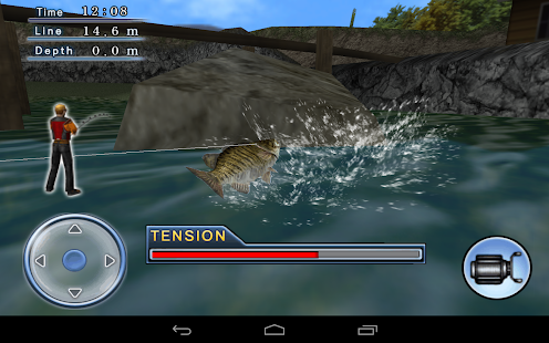 Bass Fishing 3D on the Boat - screenshot thumbnail