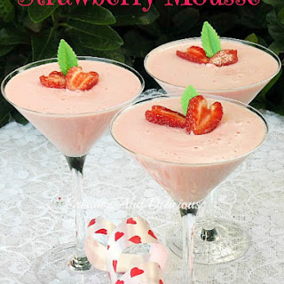 Strawberry Mousse Without Cream Recipes.