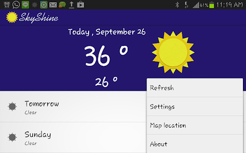 SkyShine-Weather Forecasting screenshot 2